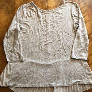 L Anthropologie Pebble & Stone long sleeved shirt